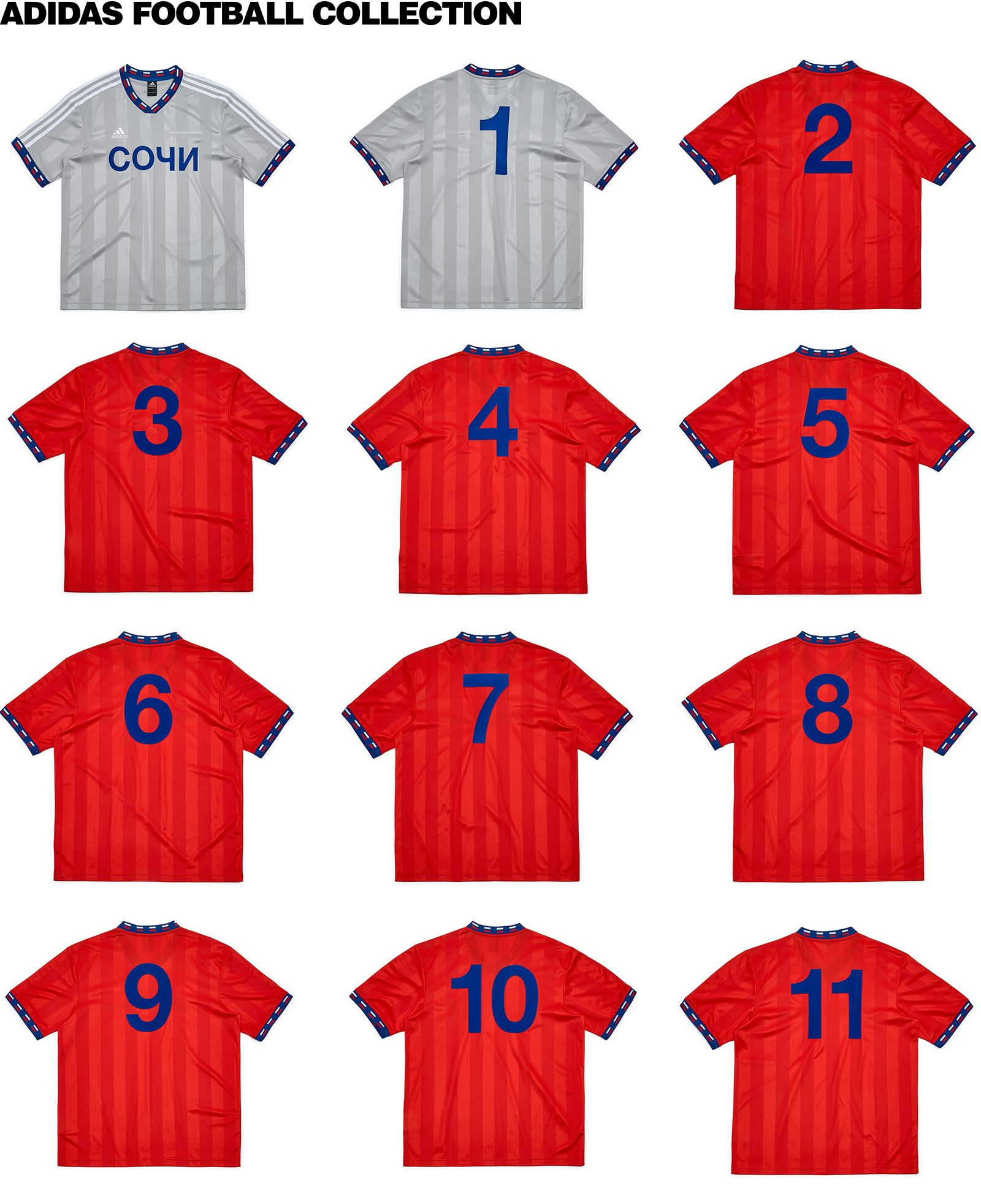 best service ce5fc 1935f gosha football collection